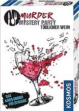 Kosmos 695125 - Murder Mystery Party - Tödlicher Wein - Das Krimi-Dinner für zu Hause, Komplett-Set für genau 6 - 8 Person...