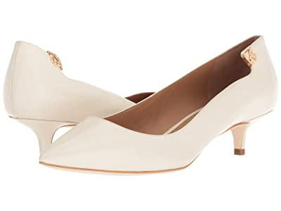 Tory Burch Elizabeth 40mm Pump (Ivory) Women