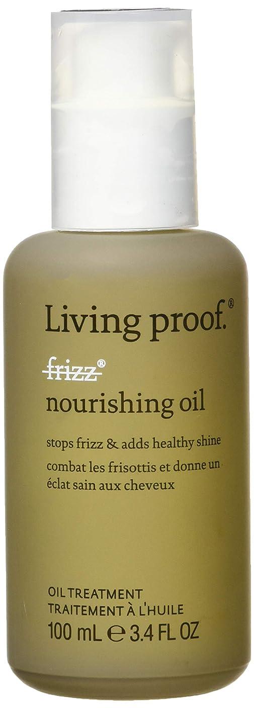 警告密グローブリビングプルーフ No Frizz Nourishing Oil 100ml