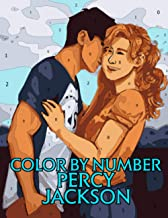 Percy Jackson Color by Number: The Title Character and Narrator of Rick Riordan's Percy Jackson & the Olympians Series Ill...