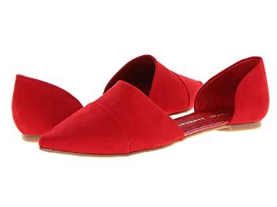 Chinese Laundry Easy Does It Flat (Red Suede) Women