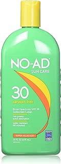 NO-AD Sunscreen Lotion SPF 30 , 16 Fl Oz (2 Pack)