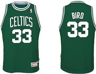 adidas Larry Bird Boston Celtics Youth Larry Bird Soul Swingman Jersey - Green #33,