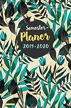 Semesterplaner 2019 2020 Hardcover: Semesterplaner 2019/20 A5 - Studium Kalender, Timer und Studienplaner von Oktober 2019...