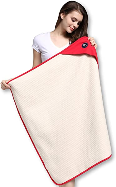 Protective Belly Pregnancy Baby Blanket Organic Anti Radiation Red 35 X30