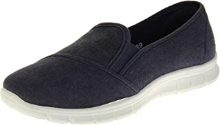 Dunlop Womens Canvas Casual Slip On Fashion Trainers