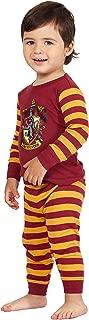 Baby Hogwarts Houses Crest Logo Cotton Infant Pajama Gift Set