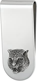 Men's Gatto Money Clip Silver One Size