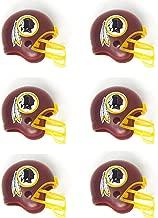 NFL 6 Pack Washington Redskins 2017 Helmet Mini Football 2