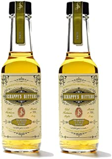 Scrappy's Bitters - Lime, 5 ounces - Organic Ingredients, Finest Herbs and Zests, No Extracts, Artificial Flavors, Chemica...