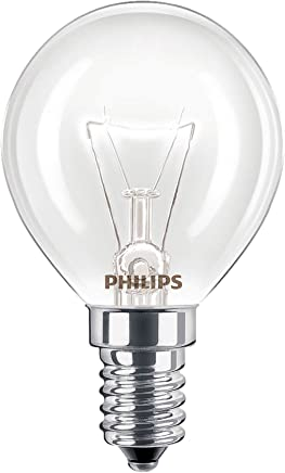 2 x Philips Oven 40w Lamp SES E14 Small Screw Cap 300° Cooker Light Bulb Fits AEG/Bosch / Siemens/Neff / Hotpoint