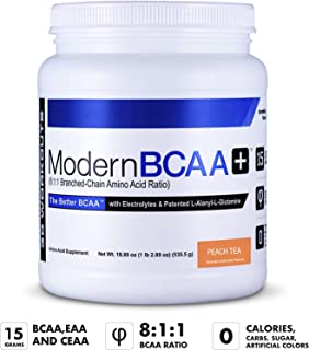 Modern BCAA+®, The Better BCAA , 30 Servings, Peach Tea