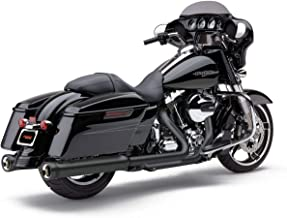 Cobra 17-19 Harley FLHX2 NH Series Slip-On Exhaust (Raven Black)