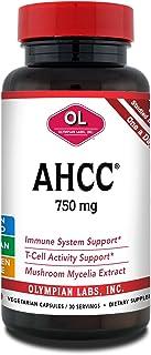 Olympian Labs Premium AHCC Supplement - 750mg of AHCC per Capsulesule - 30 Capsules - Supports Immune Health, Liver Functi...