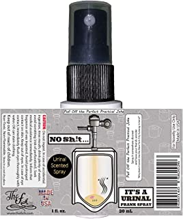 The fich, Inc. No Sh...It's a Urinal Prank Spray | Made in USA Highly Concentrated Urinal Scented Fragrance Oil Prank Stuff Gag Gift Spray