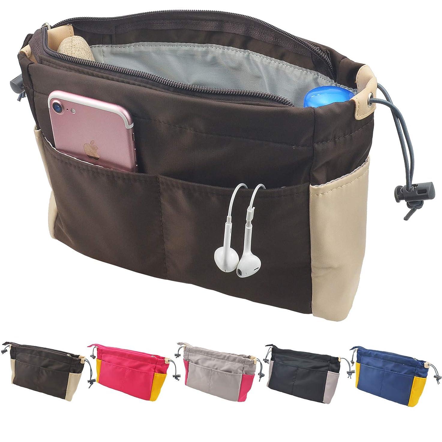 補充未亡人リンクバックインバック メンズ レディース Organizer Bag in Bag バッグインバッグ 軽 人気 仕切り インナーバッグ