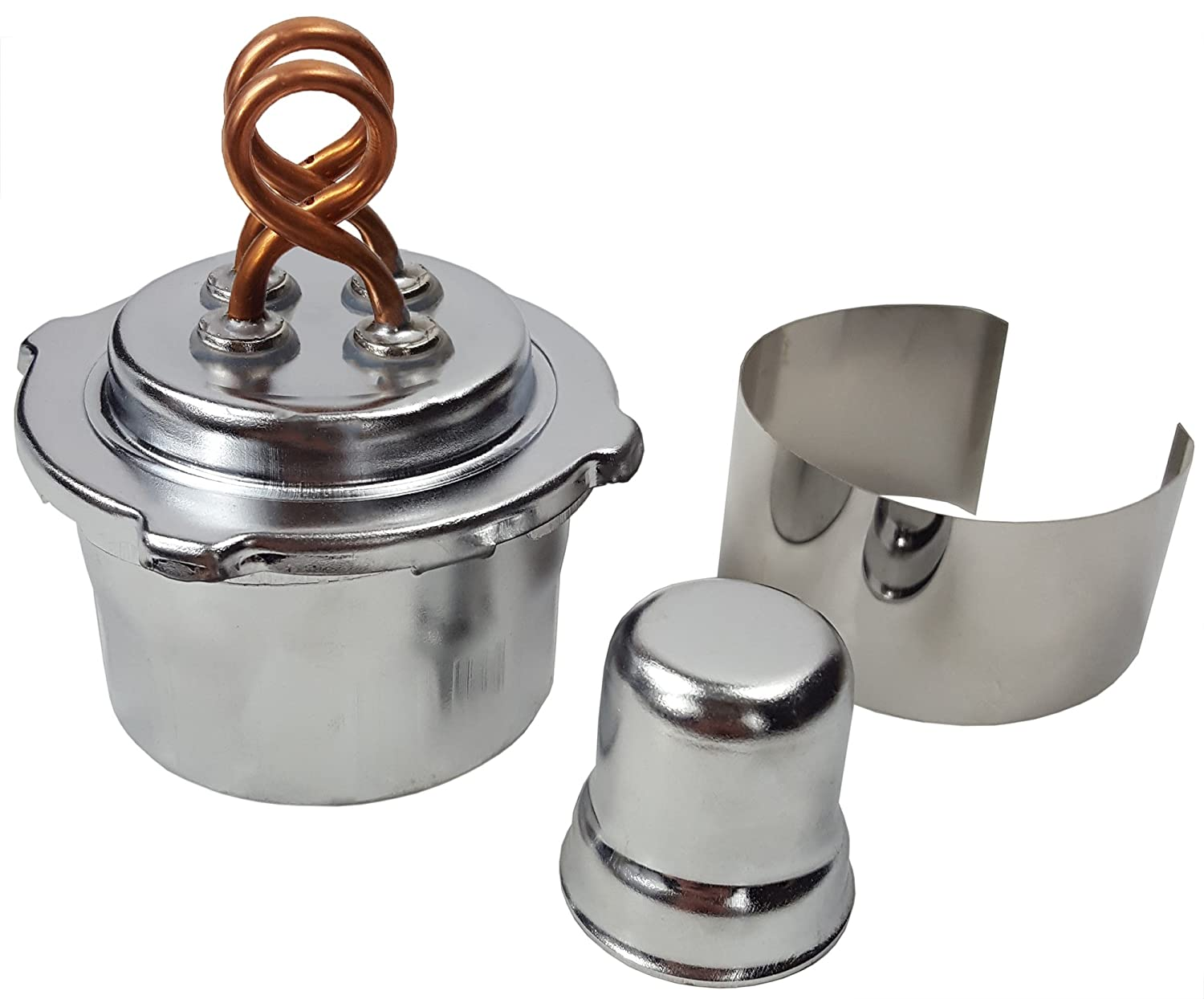 GSC International 42002 Alcohol Max 55% OFF Burner with mL 100 Indefinitely Wick Dual Ca