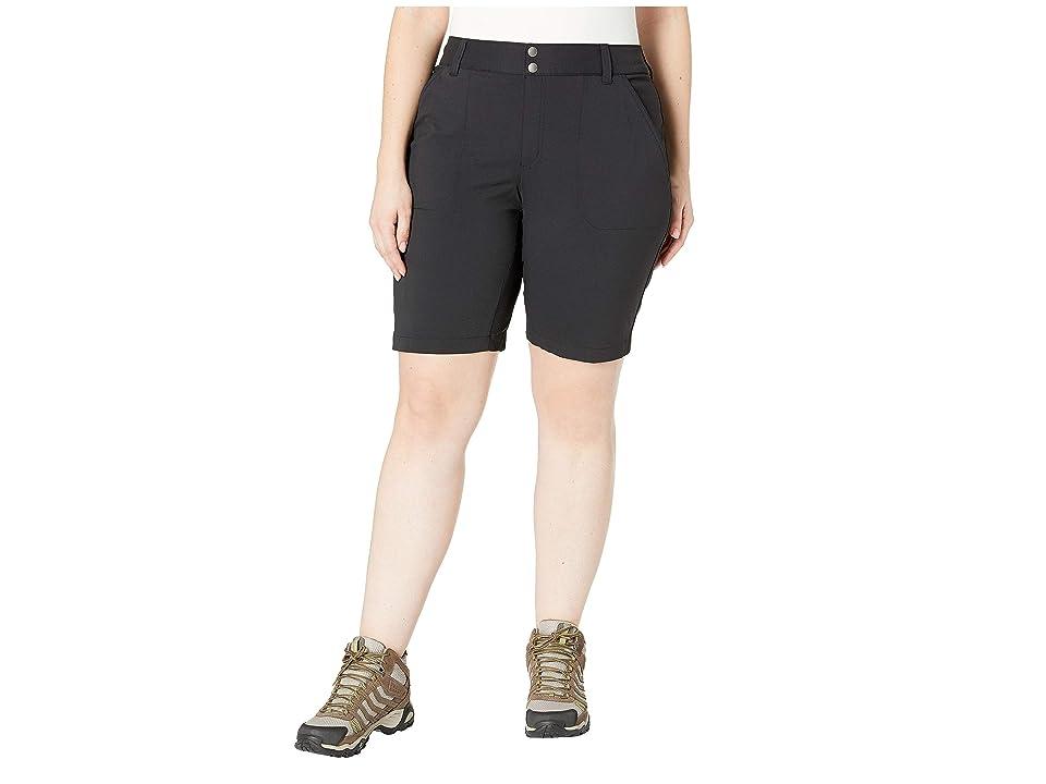 Columbia Plus Size Saturday Trailtm Long Short (Black) Women