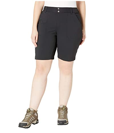 Columbia Plus Size Saturday Trailtm Long Short (Black) Women