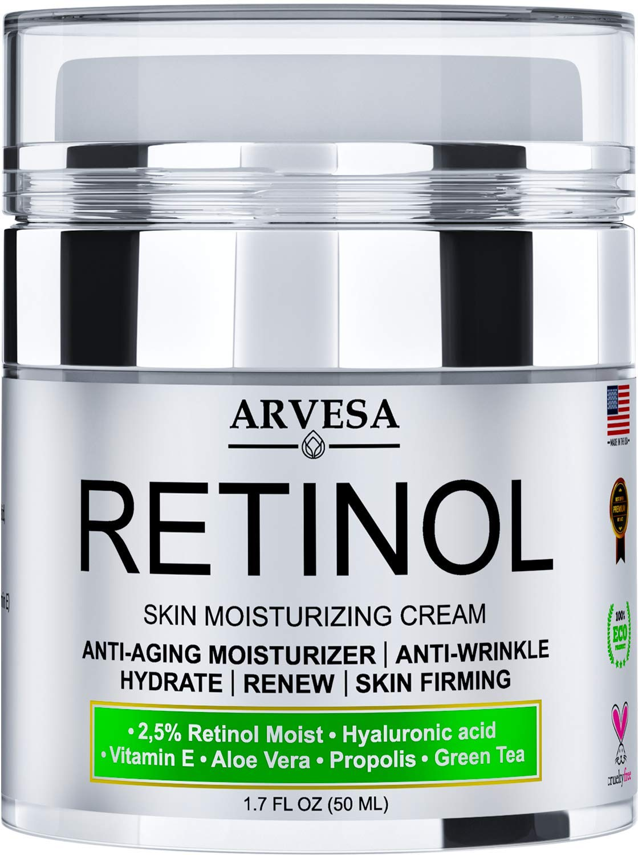 Natural Retinol Moisturizer Cream Face