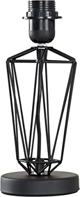 Modern Black Metal Wire Frame Table