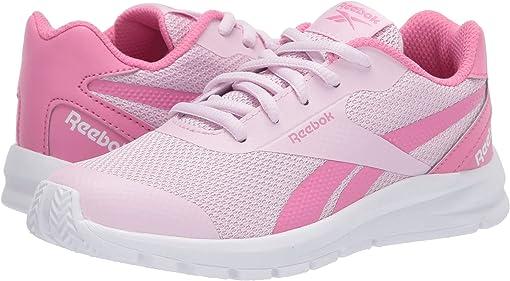 Pixel Pink/Posh Pink/White