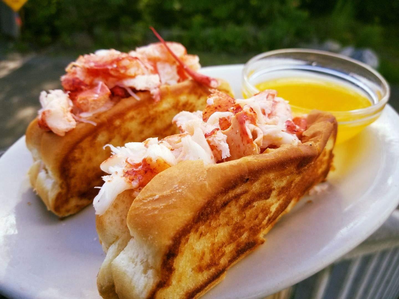 New England Split-top Frankfurter Hot Dog Bun or Lobster Rolls - Pack of 6  12 or 24 count Amazoncom Grocery amp Gourmet Food