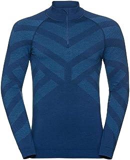 Odlo Män Natural + Kinship Warm Half Zip Sweatshirt