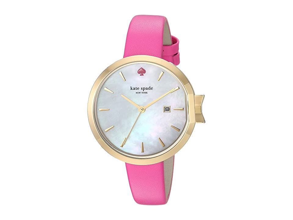 Kate Spade New York 34mm Park Row Watch - KSW1268 (Silver/Pink) Watches
