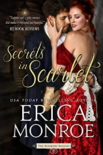 Secrets in Scarlet: Dark, Gritty Historical Romantic Suspense (The Rookery Rogues Book 2)