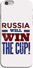 ColorKing Football Russia 04 White shell case cover for Apple iphone 6 / 6s