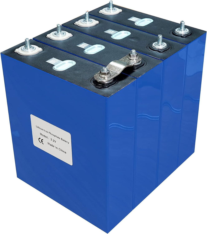 VARADOMO 3.2V 4 / 8PCS 200AH LIFEPO4 Batería Recargable de Litio Célula Solar de fosfato de Hierro Litio 4S 12V 24V US/UE Libre,4PCS