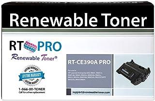 Renewable Toner Pro Compatible Toner Cartridge Replacement for HP CE390A 90A Laserjet M601 M602 M603 M4555