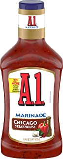 A.1. Steakhouse Chicago Marinade (16 oz Bottles, Pack of 6)