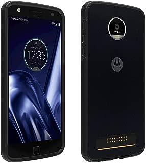 Verizon OEM Two-Tone Bumper Case for Motorola Moto Z Play Droid - Black/Gray