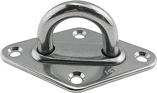 Stainless Steel 316 Diamond Pad Eye 5/16