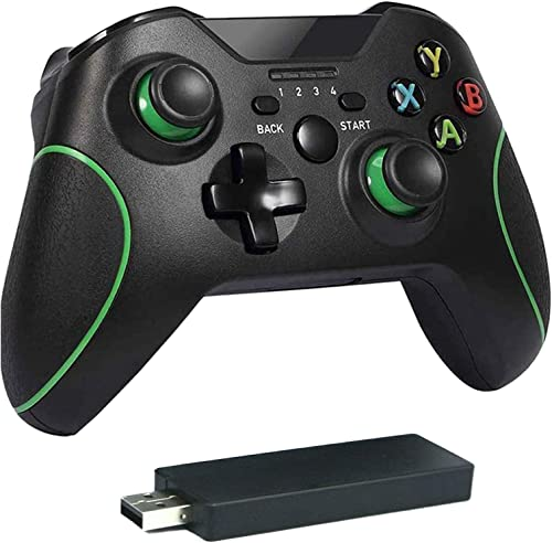 Controller for Xbox One, Sollop 2.4GHZ Wireless Controller Compatible with Xbox One S, One X, One Elite, PS3, PC