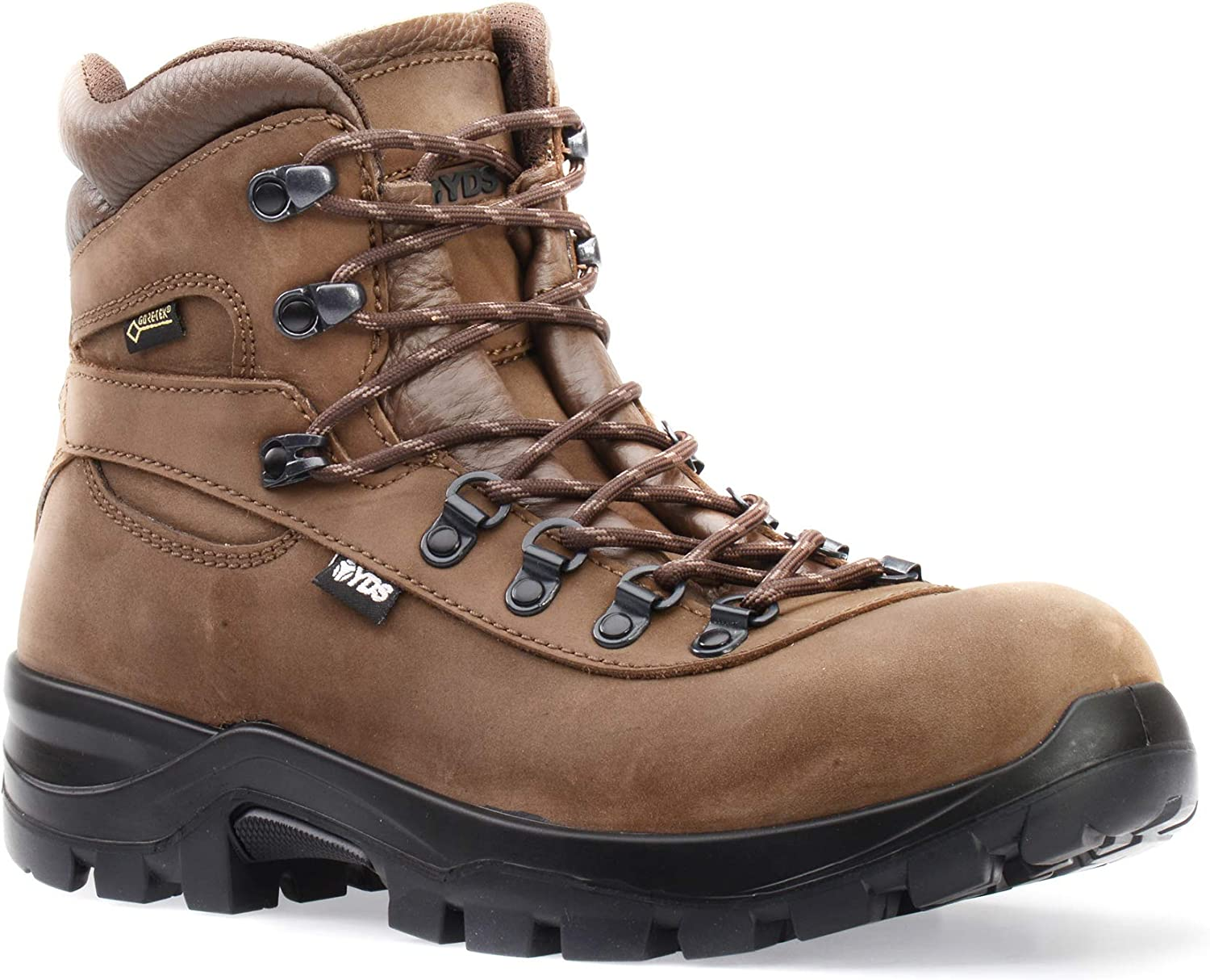 YDS Brisa GTX Mens 100% Waterproof Hiking Grey Boots shoes Gore-TEX MS Sportive Rubber Sole