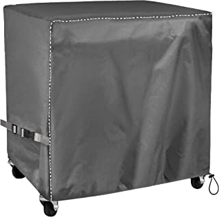 Mr.You Cooler Cart Cover - Universal Fit for Most 80-100 QT,Waterproof Thickened Fabric,Rolling Cooler (Patio Cooler,Bever...