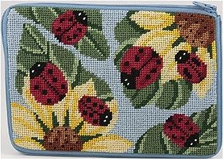 Cosmetic Purse - Ladybug - Needlepoint Kit