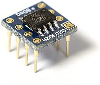 OPA627AU デュアル 8Pin DIP小型変換基板実装済み