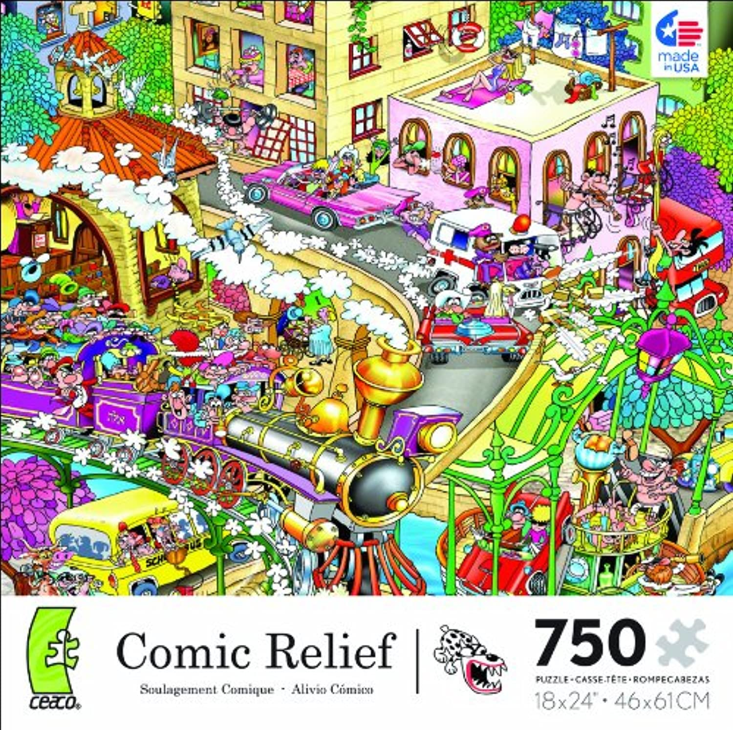 Comic Relief Heaven on Earth 750 Piece Jigsaw Puzzle