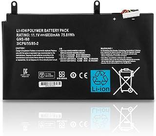 K KYUER 11.1V 75.81Wh 6830mAh GNS-160 GNS-I60 Batería para Gigabyte P35G P35K P35W P35X Gigabyte P37K P37W P37X P57W P57X v2 v3 v4 v5 v6 v7 Ultrablade Gaming Laptop Notebook Battery 961TA010FA