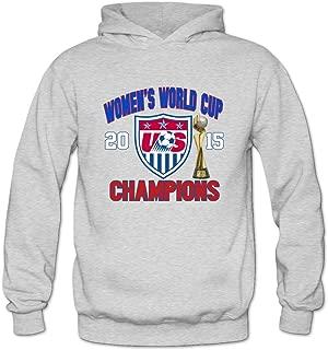 Agongda Women's 2015 Canada FIFA Women's World Cup Team USA Champions League Hoodie