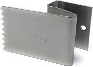 PLYLOX Hurricane Window Clips 20 Pack (Stainless Steel, 3/4