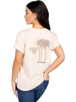Hurley W Dwellers Crop Pocket Crew Tee Tee-Shirts Femme