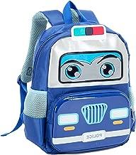 Toddler Backpack Lightweight washable Waterproof Large Bus Shaped Snack Nursery School Bag for Kids Boys Girls