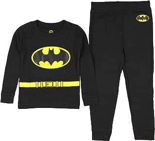 DC Comics Boys' Long Sleeve Batman Pajama Set