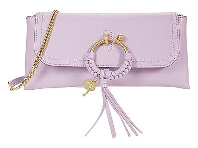 See by Chloe Joan Clutch (Lavender Mist) Handbags