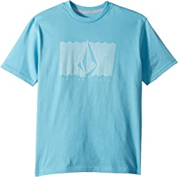 Sound Waves Short Sleeve Tee (Big Kids)